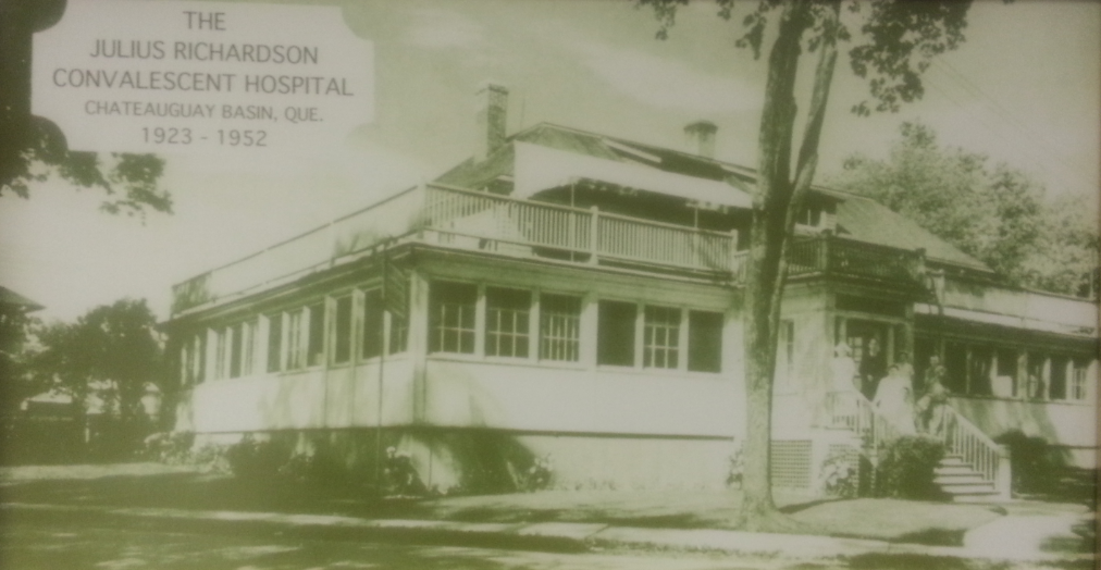 Julius Richardson Convalescent hospital en 1952