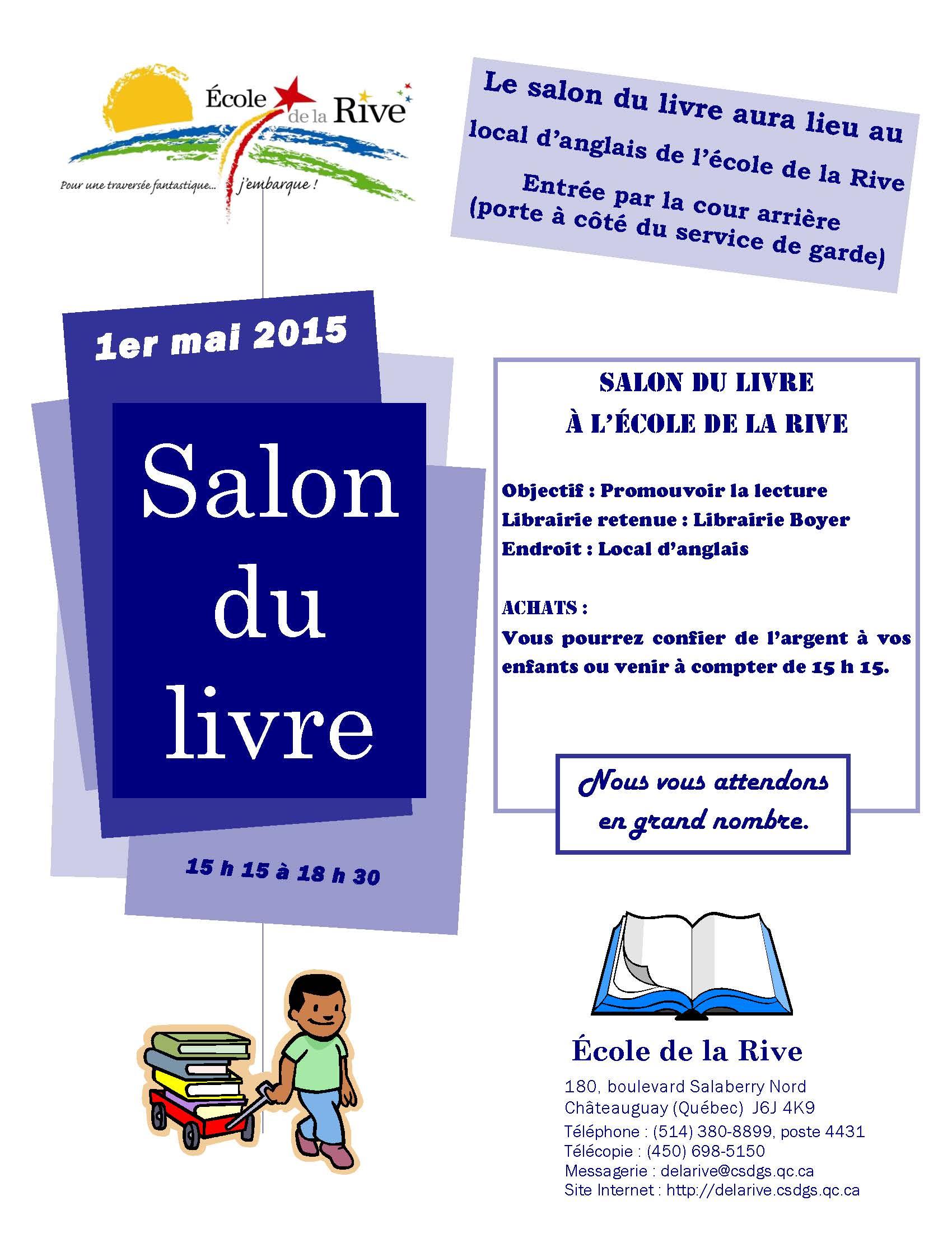 Salon du livre du 1er mai 2015