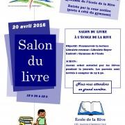 Salon du livre - Publicité - Avril 2016