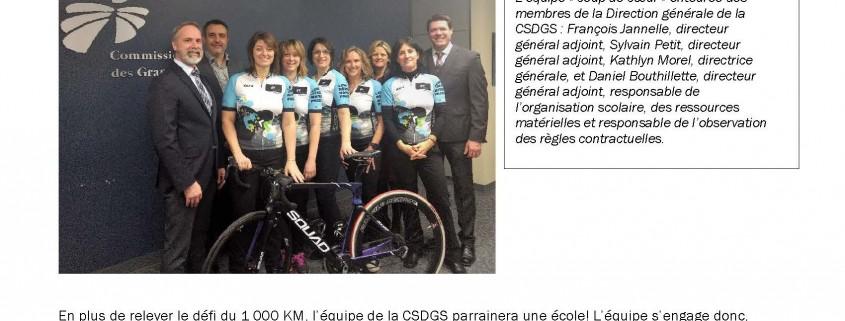 CSDGS - Communiqué interne_Équipe de la CSDGS au 1000km_GDPL - 2017-2018